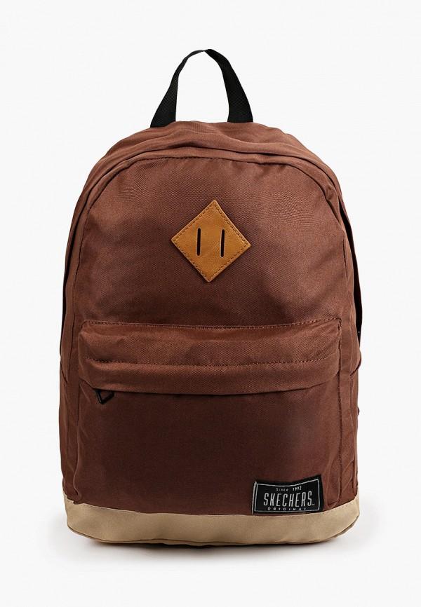 женский рюкзак skechers, коричневый