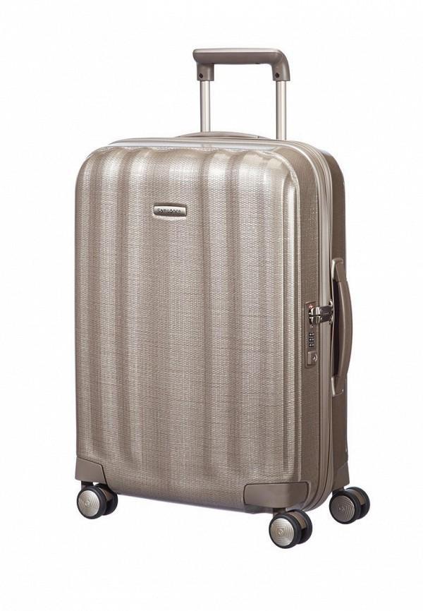 женский чемодан samsonite, бежевый