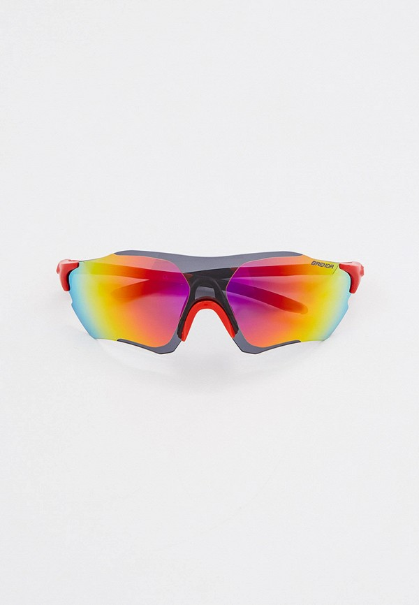 женские солнцезащитные очки brenda, красные