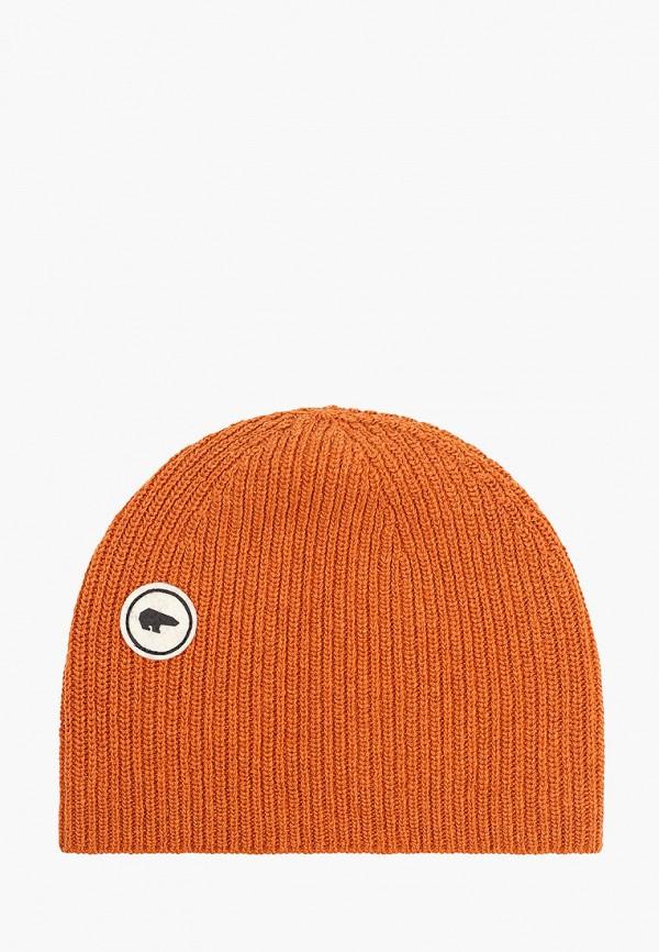 женская шапка eisbar, коричневая