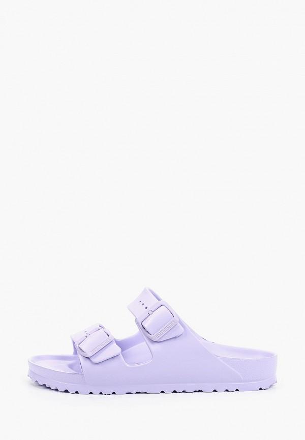 женские сандалии birkenstock, фиолетовые