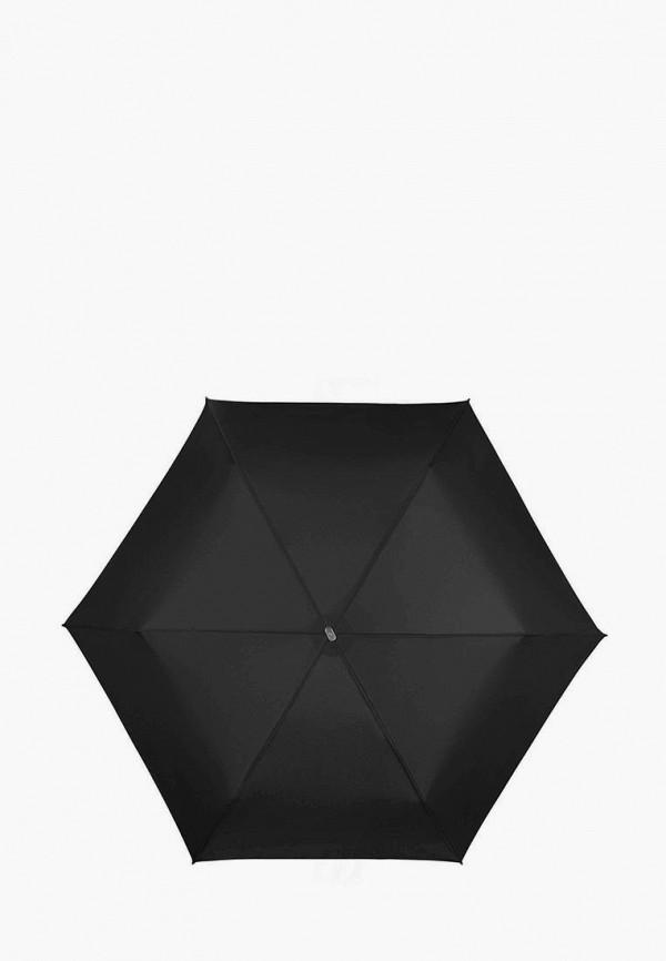 женский складные зонт samsonite, черный