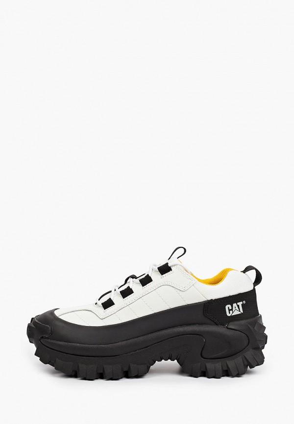 женские низкие кроссовки caterpillar, белые