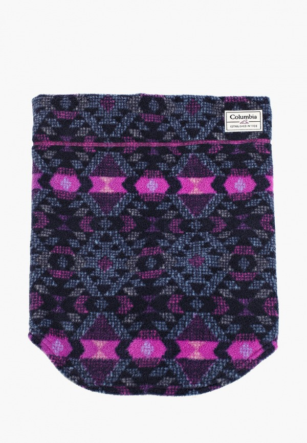 женский снуд columbia, фиолетовый
