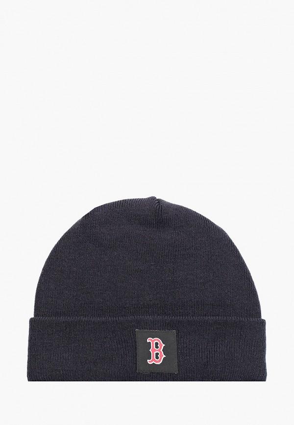 женская шапка new era, синяя