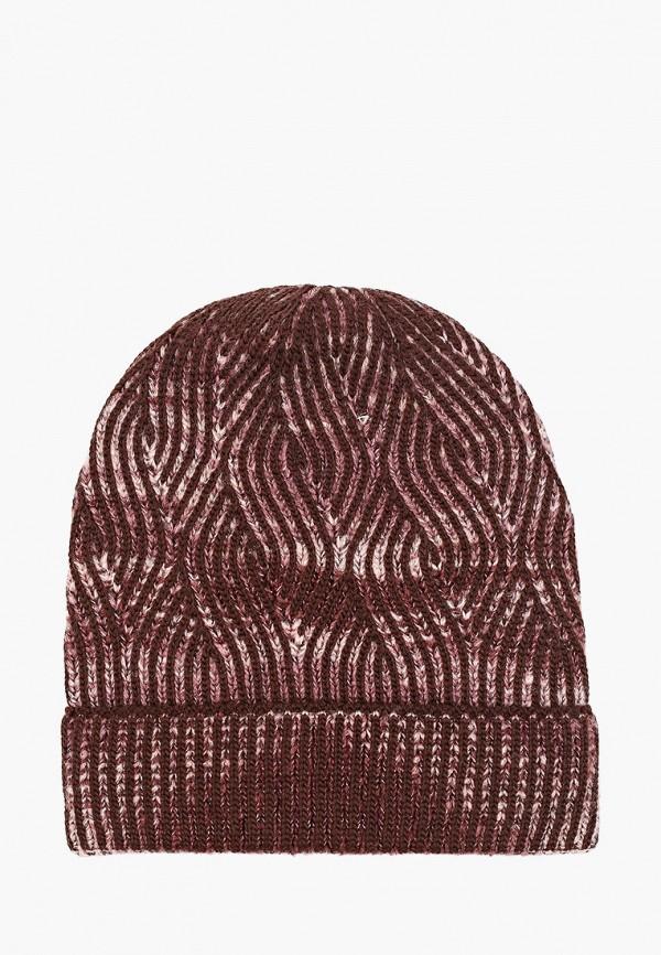 женская шапка сиринга, коричневая