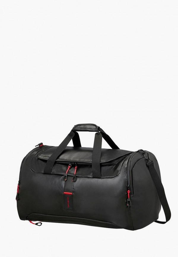женская дорожные сумка samsonite, черная