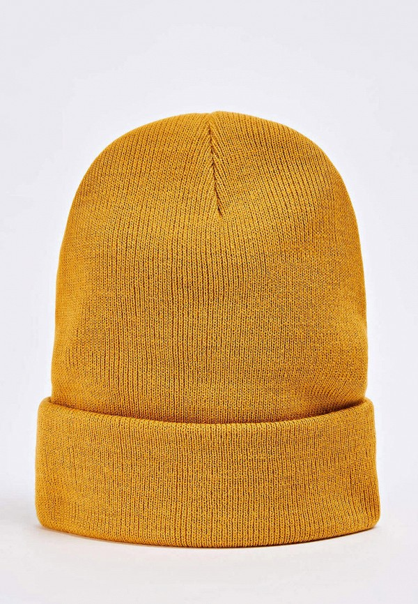 женская шапка terranova, желтая