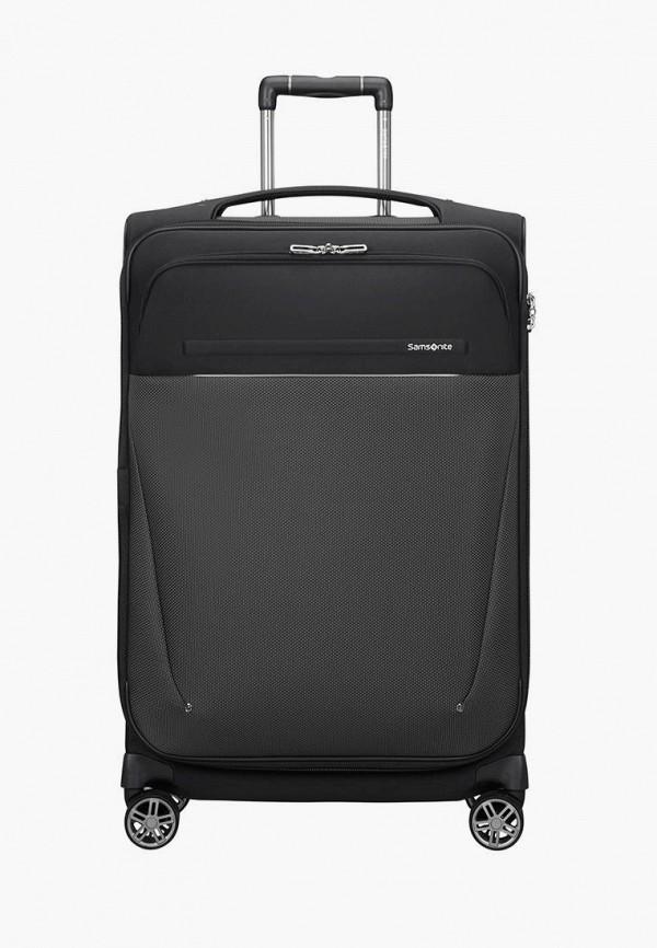 женский чемодан samsonite, черный