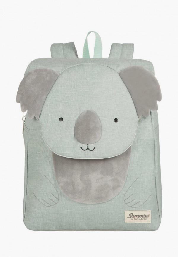 женский рюкзак samsonite, зеленый
