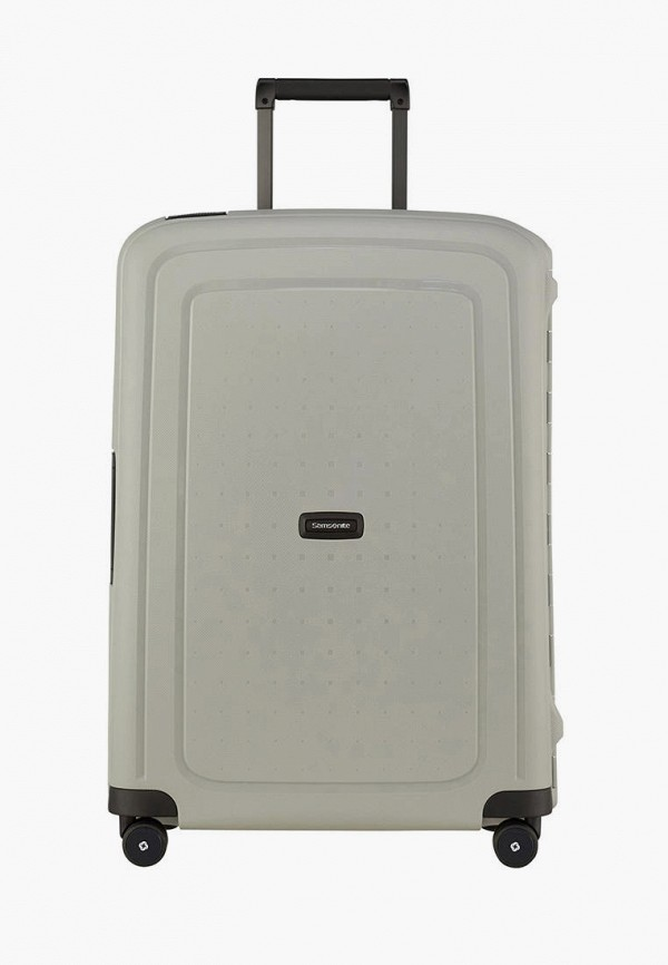 женский чемодан samsonite, хаки