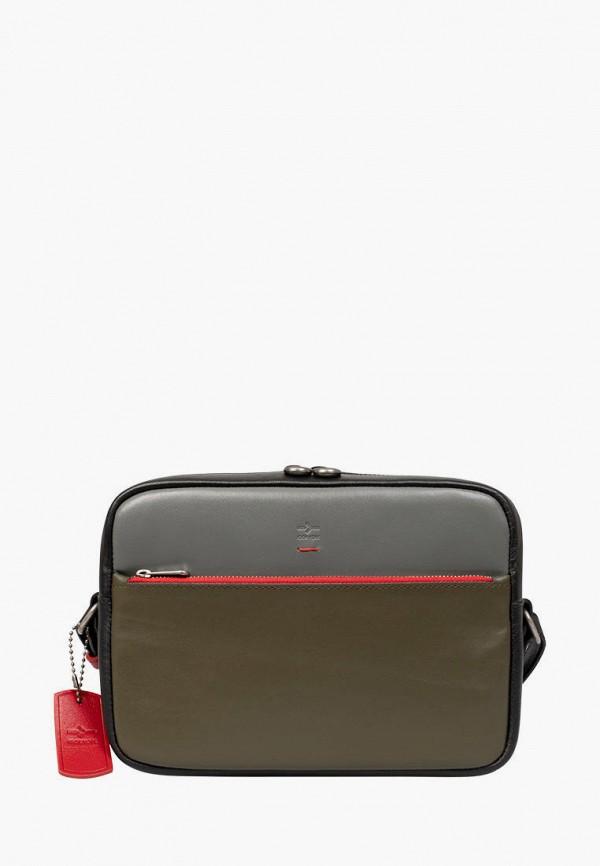 женская сумка через плечо igor york, хаки