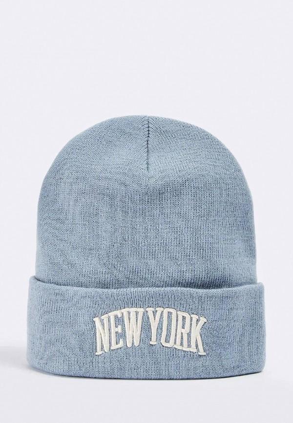 женская шапка terranova, голубая