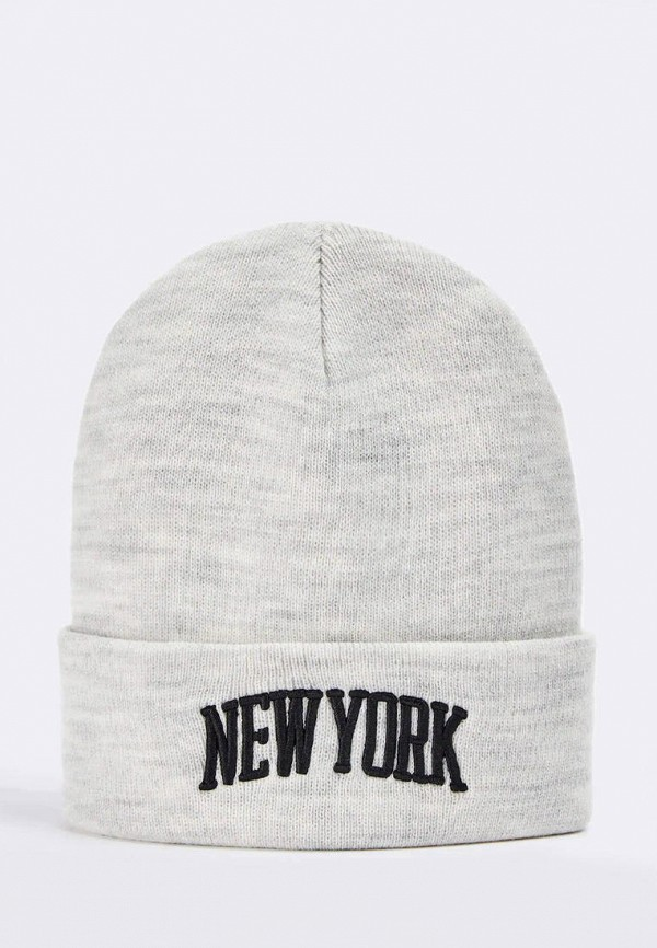 женская шапка terranova, серая