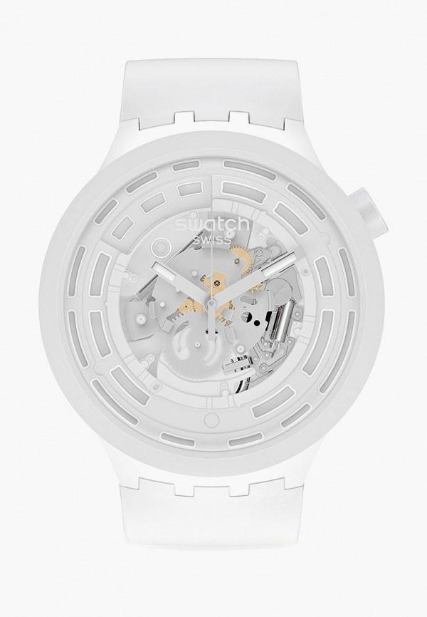 женские часы swatch, белые