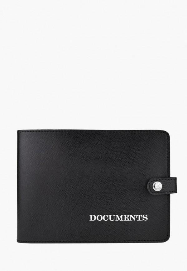 Купить Обложка для документов BB1 черного цвета
