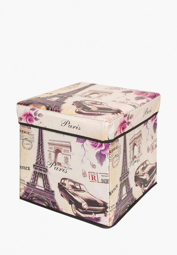 Пуф для хранения El Casa El Casa MP002XU0DUV1 ящики для хранения el casa сумочка интерьерная для хранения ирисы и незабудки