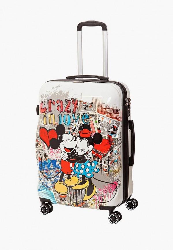 женский чемодан sunvoyage, разноцветный