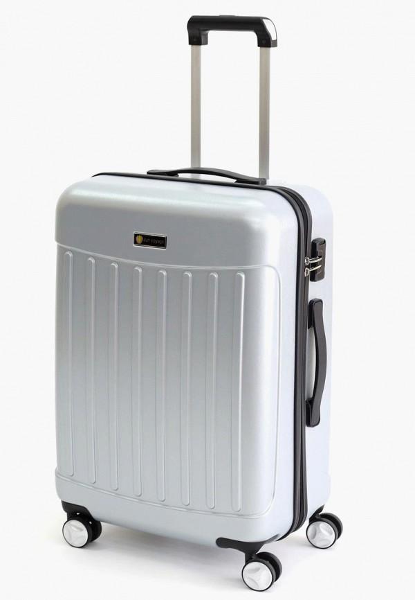 женский чемодан sunvoyage, серый