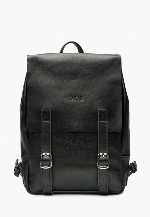 женский рюкзак lokis, черный