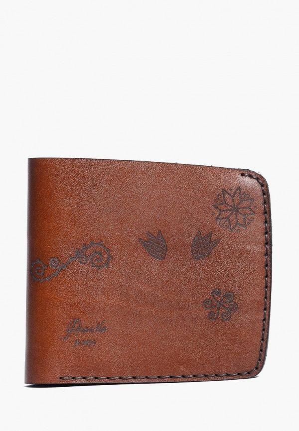 женский кошелёк franko, коричневый