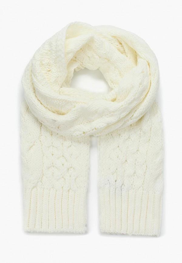 женский шарф anta, белый