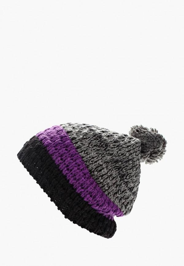 женская шапка anta, серая