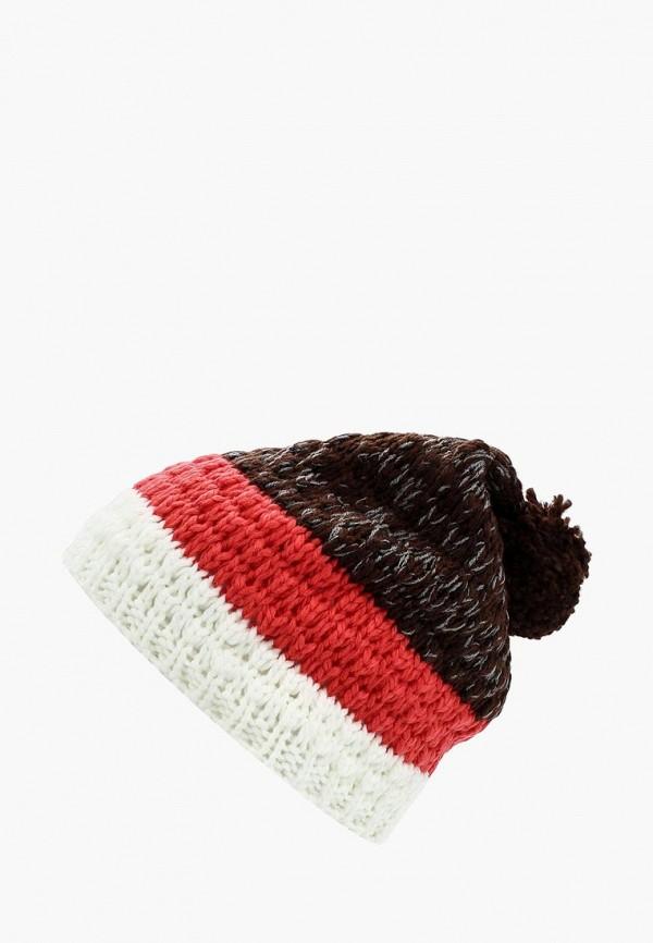 женская шапка anta, разноцветная