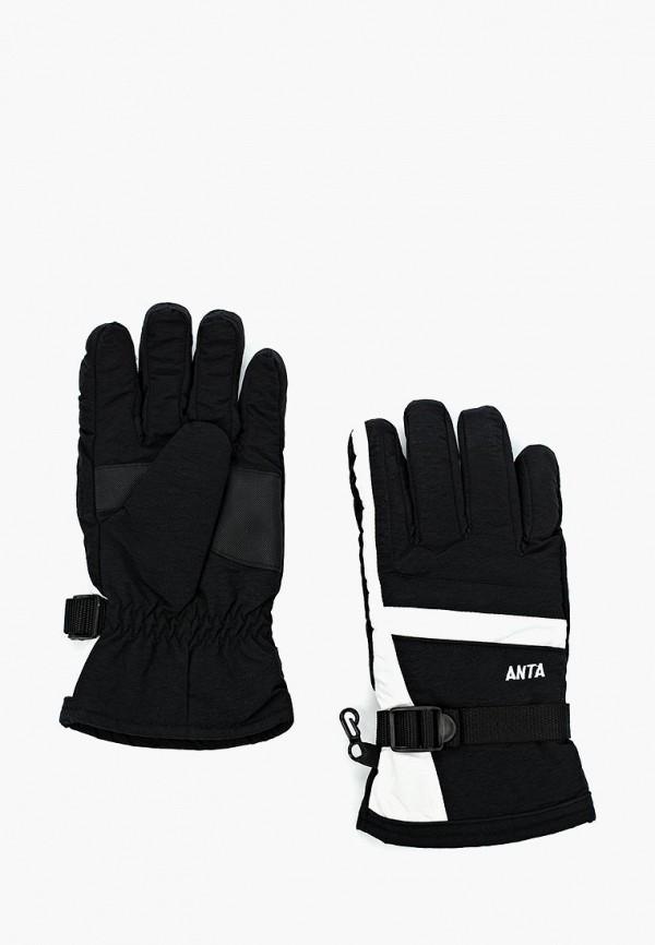 женские перчатки anta, черные