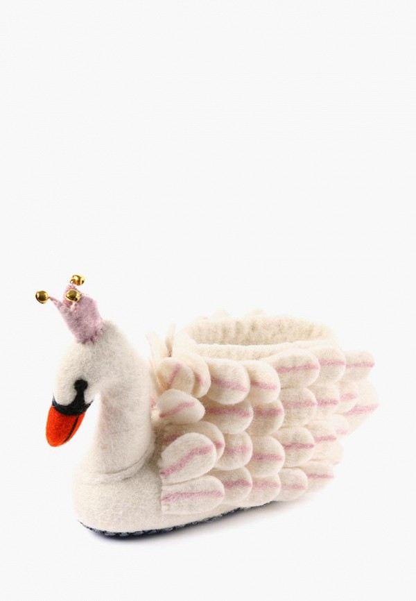 женские тапочки lovely slippers, белые