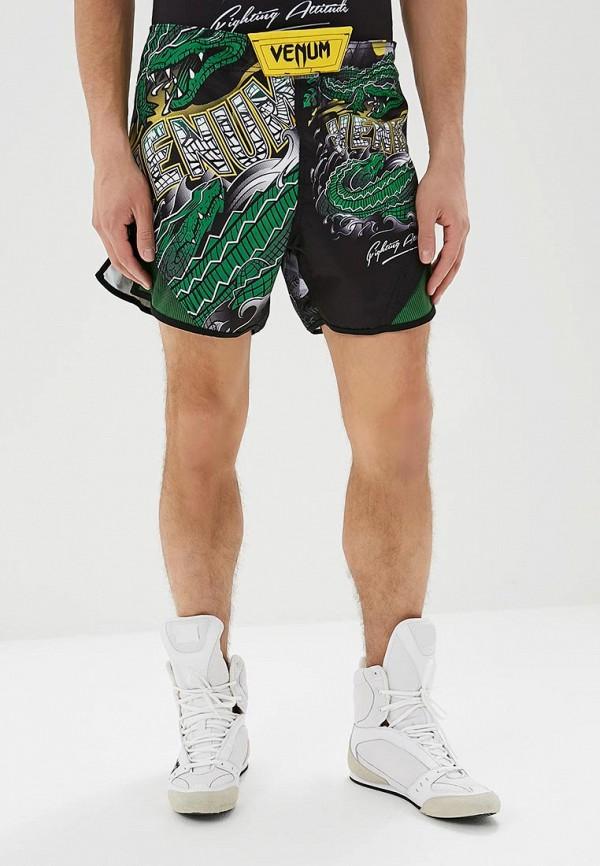 женские спортивные спортивные шорты venum, зеленые