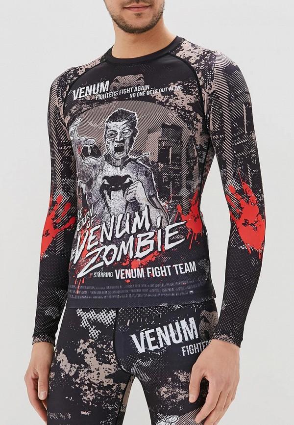 Рашгард Venum Venum MP002XU0DYK3 venum elite black red grey