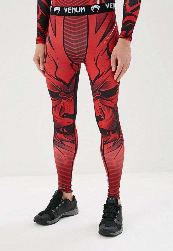 женские брюки venum, красные
