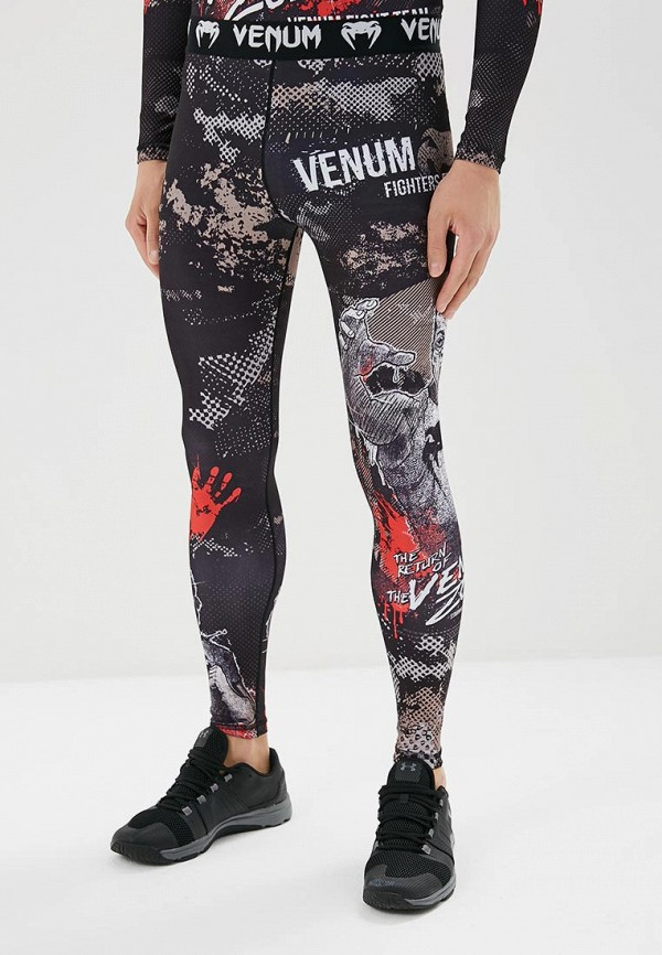 Брюки компрессионные Venum Venum MP002XU0DYKC venum футболка venum elite black