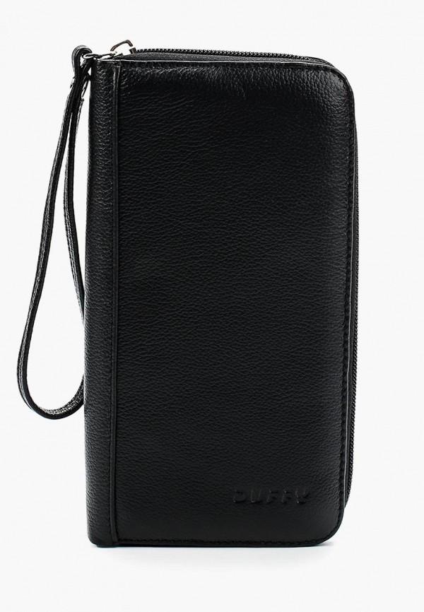 женский кошелёк duffy, черный