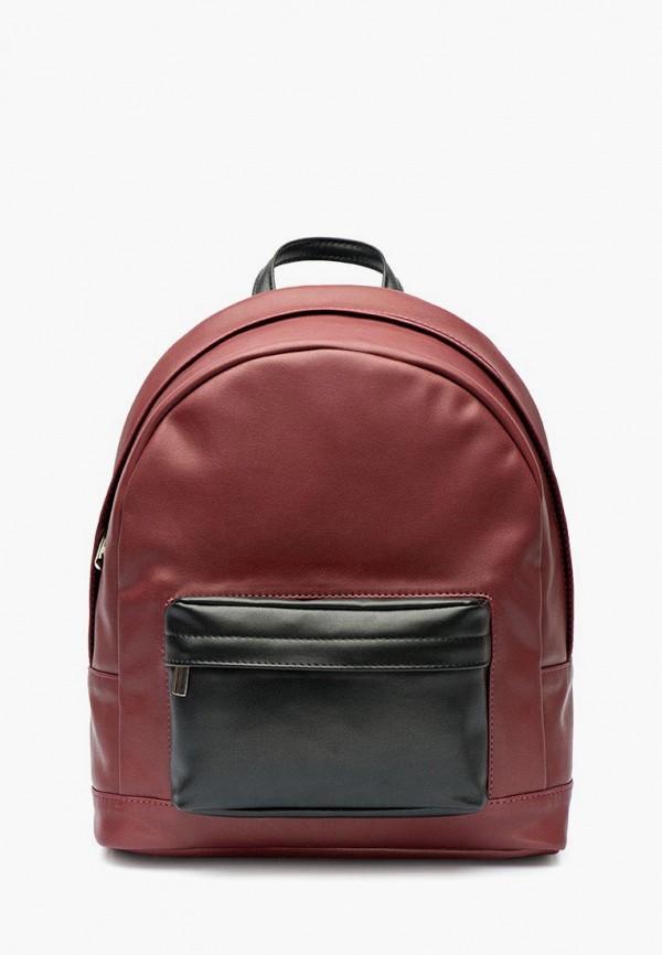 женский рюкзак lokis, бордовый