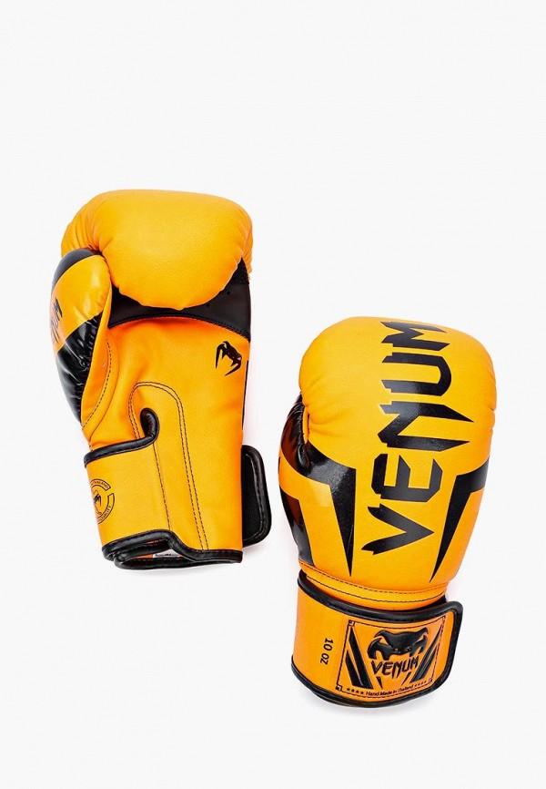 женские перчатки venum, оранжевые
