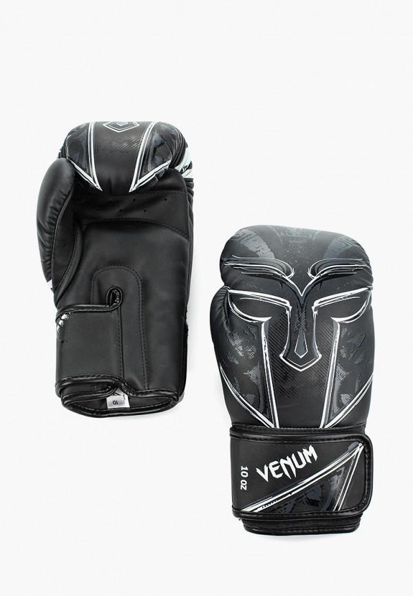 женские перчатки venum, черные