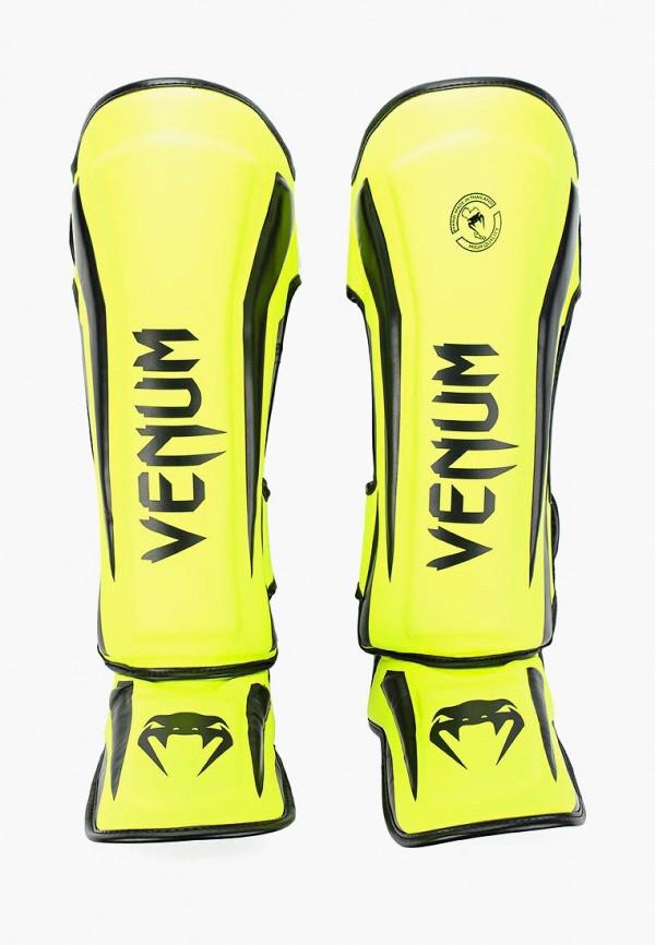Щитки Venum Venum MP002XU0DYSM venum elite black red grey