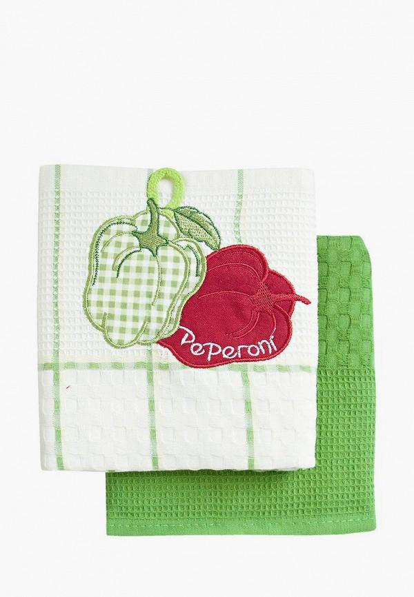 Набор полотенец кухонных Bonita Bonita MP002XU0DYXX набор полотенец bonita аппликация цвет бежевый зеленый оранжевый 40 х 60 см 3 шт