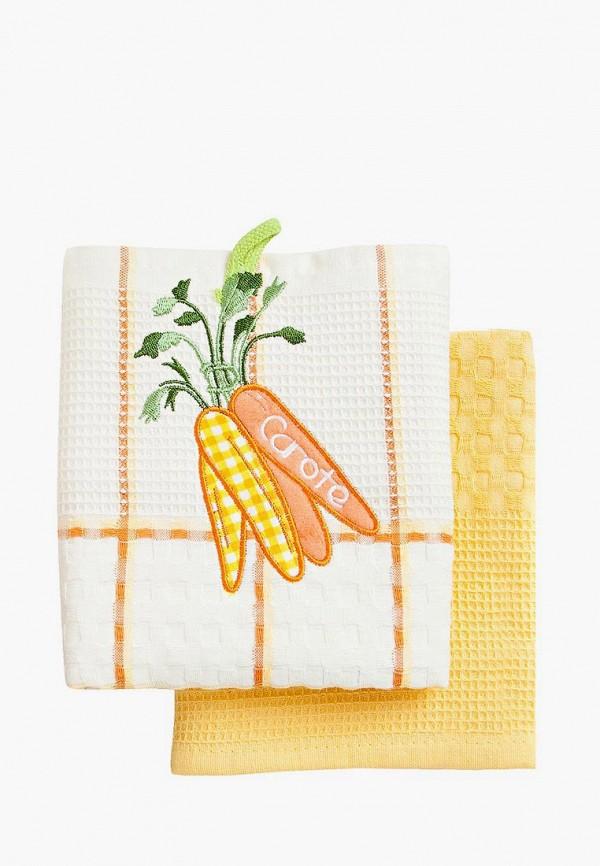 Набор полотенец кухонных Bonita Bonita MP002XU0DYXY набор полотенец bonita аппликация цвет бежевый зеленый оранжевый 40 х 60 см 3 шт