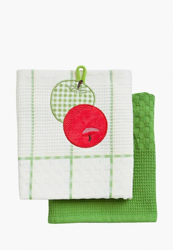 Набор полотенец кухонных Bonita Bonita MP002XU0DYY2 набор полотенец bonita аппликация цвет бежевый зеленый оранжевый 40 х 60 см 3 шт