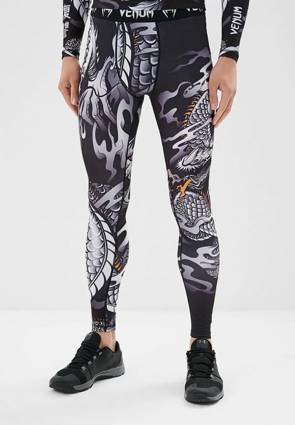 женские брюки venum, черные