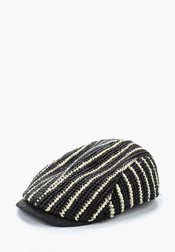 женская кепка moltini, черная