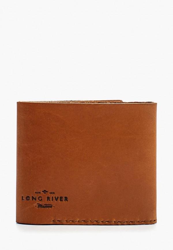 женский кошелёк long river, оранжевый