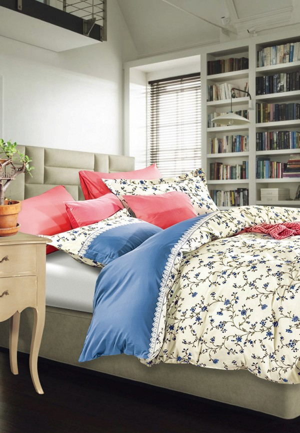 Постельное белье Семейное Bellehome Bellehome MP002XU0E0WG постельное белье семейное ранфорс сирень постельное белье семейное ранфорс