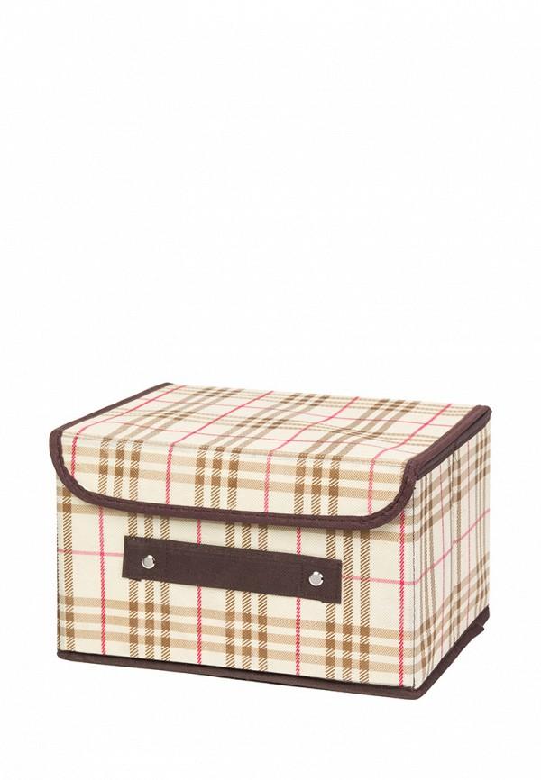 Короб для хранения El Casa El Casa MP002XU0E0Z6 корзинки el casa сумочка интерьерная для хранения ирисы и незабудки