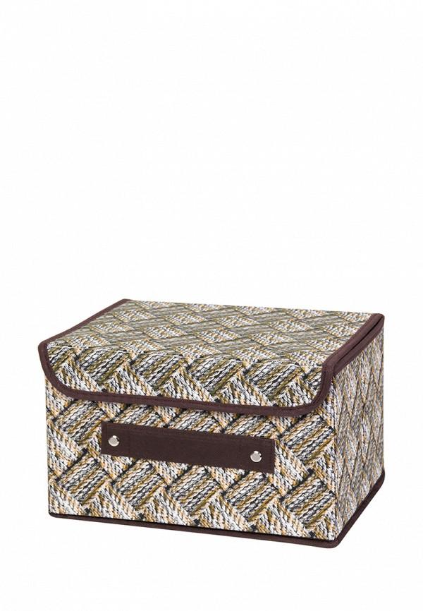 Короб для хранения El Casa El Casa MP002XU0E0Z7 корзинки el casa сумочка интерьерная для хранения ирисы и незабудки
