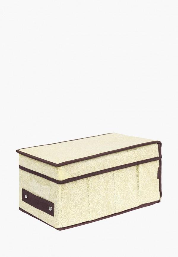 Короб для хранения El Casa El Casa MP002XU0E0Z8 корзинки el casa сумочка интерьерная для хранения ирисы и незабудки
