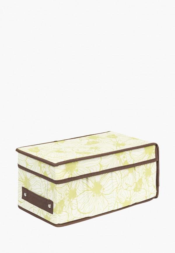 Короб для хранения El Casa El Casa MP002XU0E0Z9 корзинки el casa сумочка интерьерная для хранения ирисы и незабудки